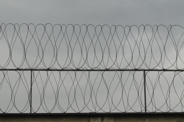 stacheldraht im strafvollzug