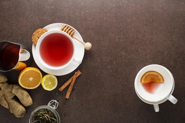 tee frucht ingwer
