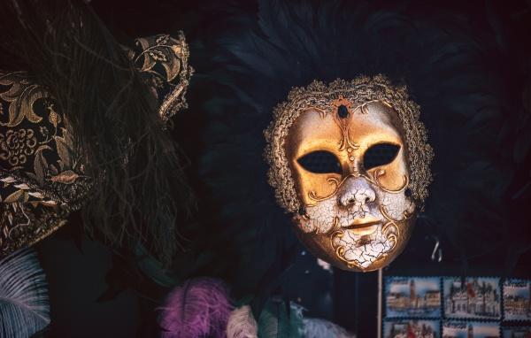 italien venedig typische karnevalsmaske