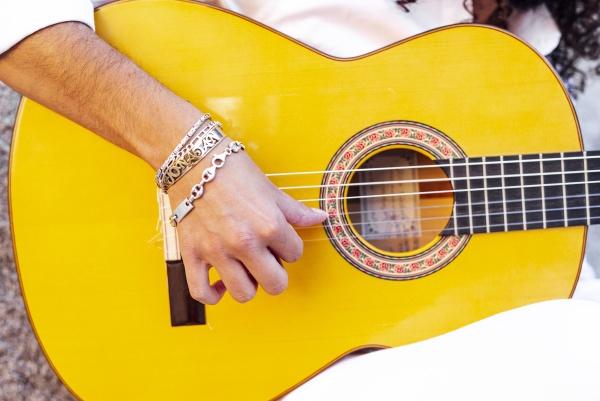 gypsy flamenco gitarrist madrid spanien