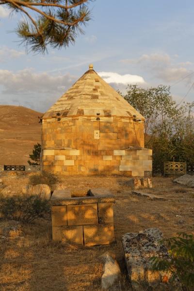 tuerkei schwarzmeerregion mausoleum von sehit osman