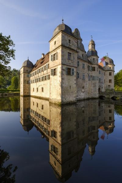 deutschland kronach wasserschloss mitwitz