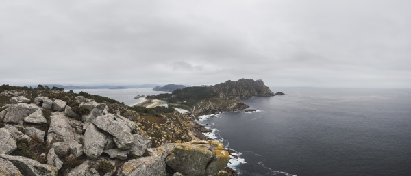 scenic, view, of, cíes, islands, on - 29125215