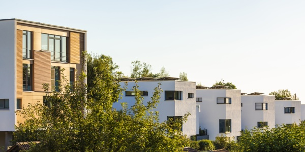 deutschland baden wuerttemberg esslingen passivhaus siedlung