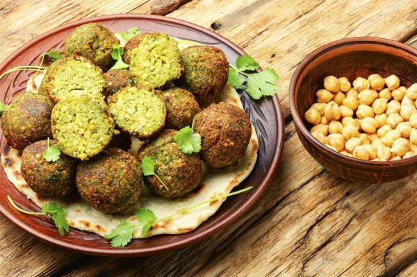 falafel veganes israelisches essen