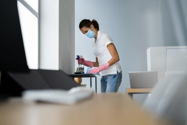 professioneller janitor office reinigungsservice