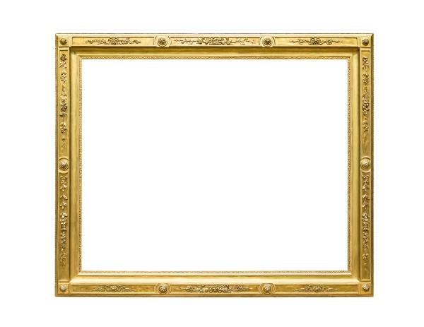 rechteck dekorative goldene bilderrahmen