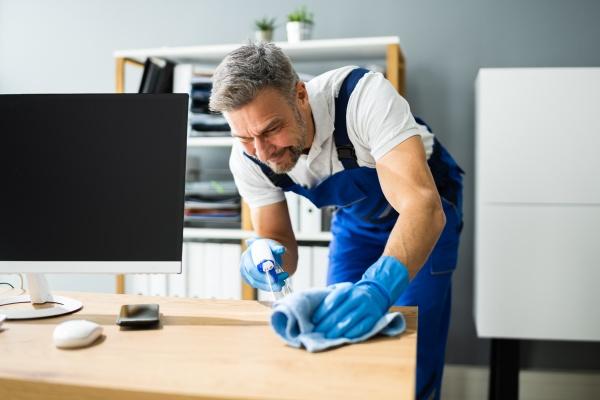 professioneller, arbeitsplatz, janitor, service - 29424242