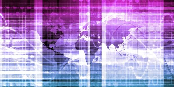 business technology hintergrund