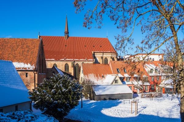 historische samt stadt rostock deutschland