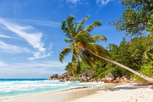 seychellen anse georgette strand praslin insel
