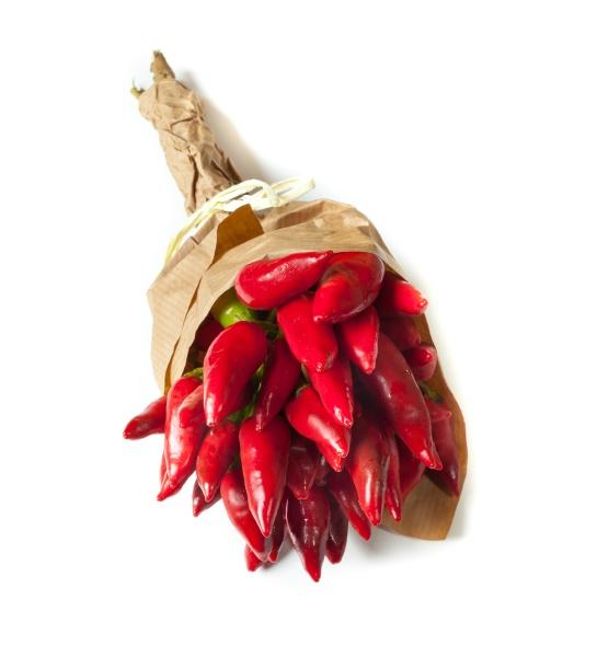 buendel von frischem kleinen paprika