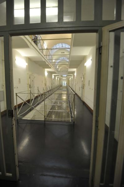 the, empty, corridor, of, a, prison - 29685634