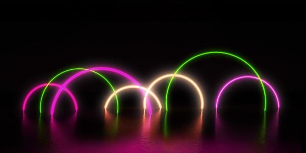 alien abstrakte portal hintergrund