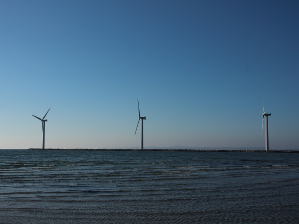 line, of, offshore, windmill, turbine, at - 29743704