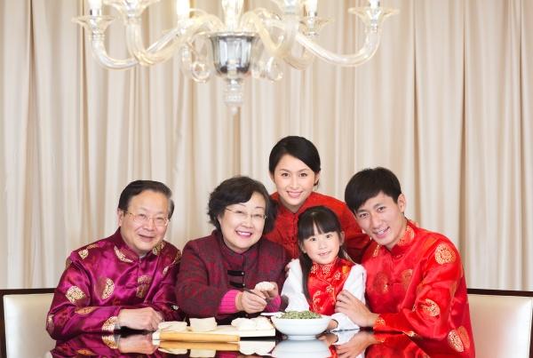 neujahr tang kleid asien 60