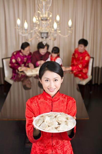 glueck asiaten oriental portrait familie neujahr