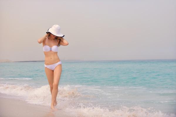 happy, woman, enjoy, summer, vacation - 30071400