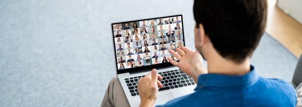online anruf fuer virtuelle videokonferenzen