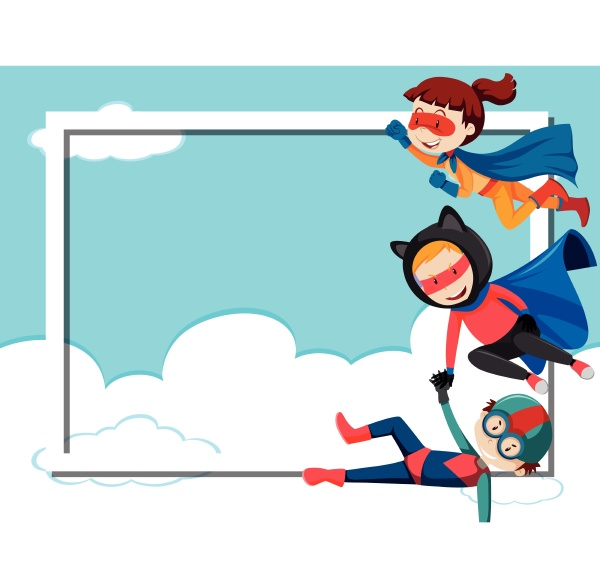 superhelden rahmen