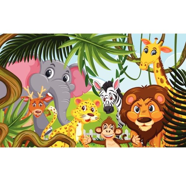 wild, animals, in, the, forest - 30509833