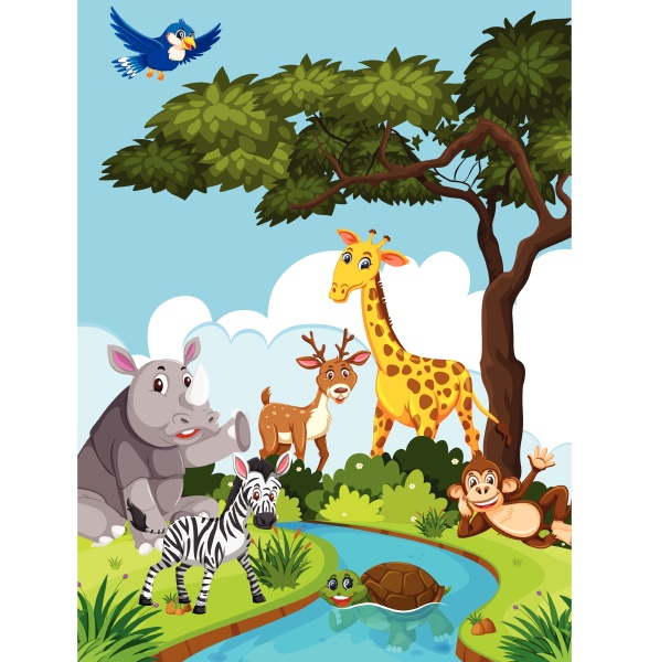 wild, animals, in, nature - 30515620