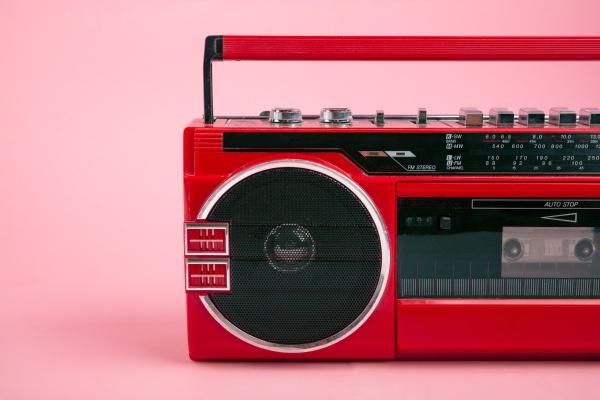 teil eines kassettenspielers