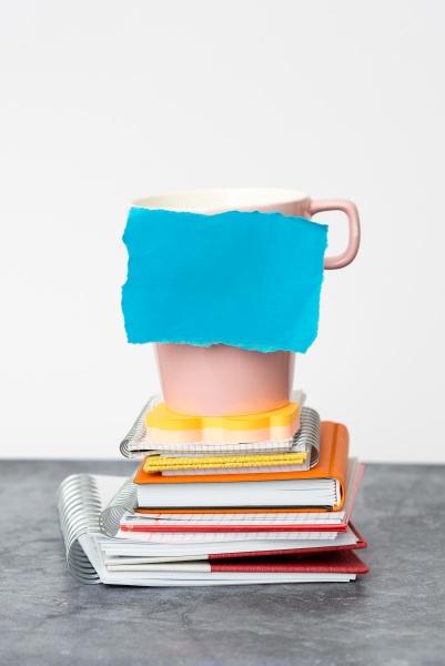organized, stack, note, pad, , bundle, notebooks, - 30560616
