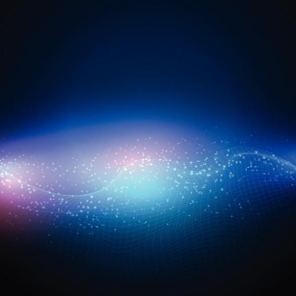 hintergrund der digitalen netzwerklandschaft 2305