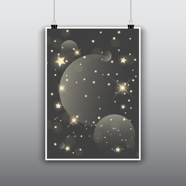starry, poster, design - 30640396