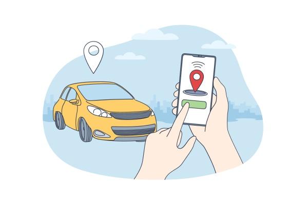 carsharing, und, online, bewerbungskonzept - 30645618