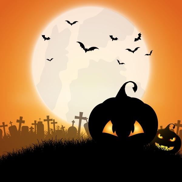 halloween kuerbis hintergrund