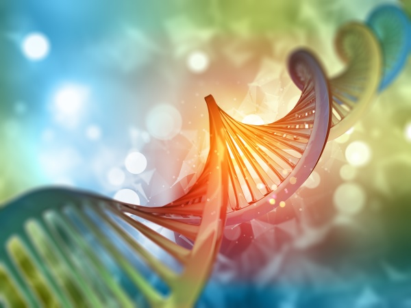 3d, medical, background, with, dna, strand - 30654722