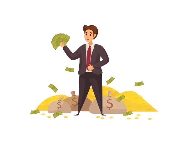 geld, erfolg, kapital, gewinn, reichtum, geschäftskonzept. - 30667201