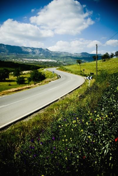 winding, road, through, rural, landscape - 30676949