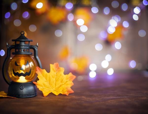 jack o laternen halloween kuerbisgesicht in