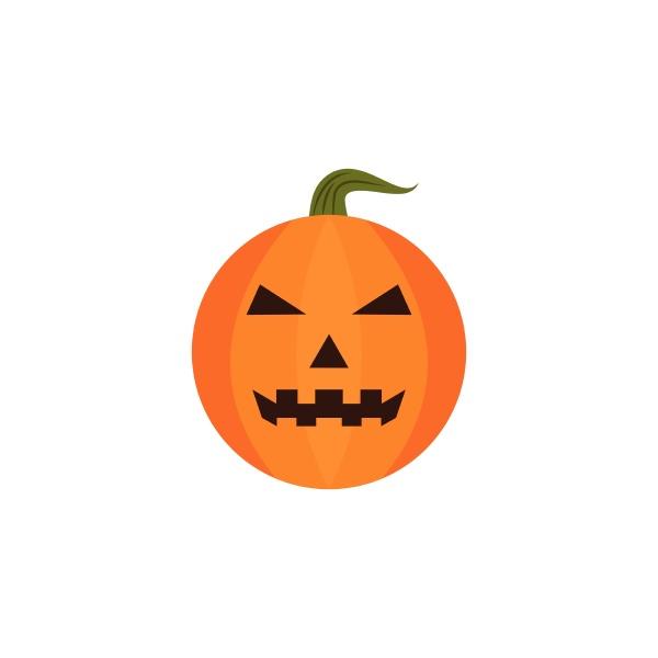 halloween kuerbis symbol vektor illustration design