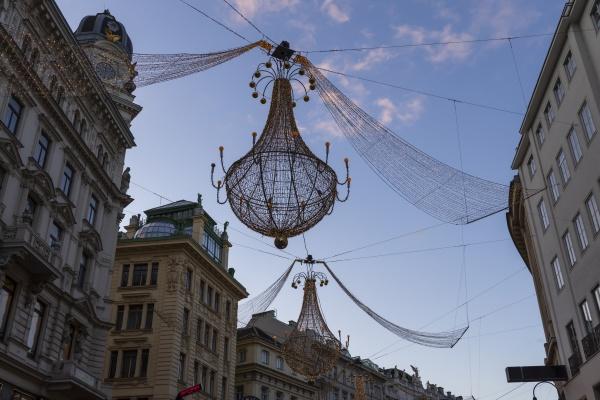 weihnachtsdekoration in wien OEsterreich