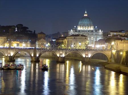 vatikan und tiber