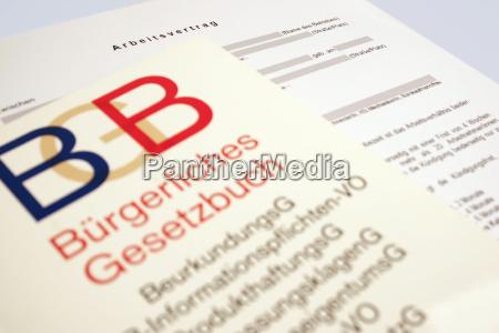 bgb vs arbeitsvertrag