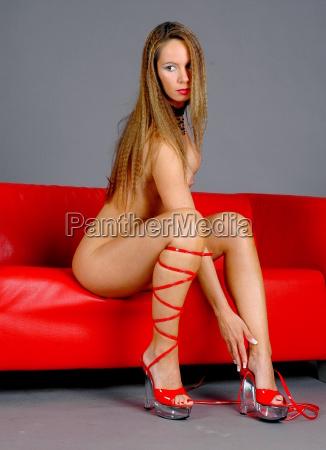 cathleen highheels red