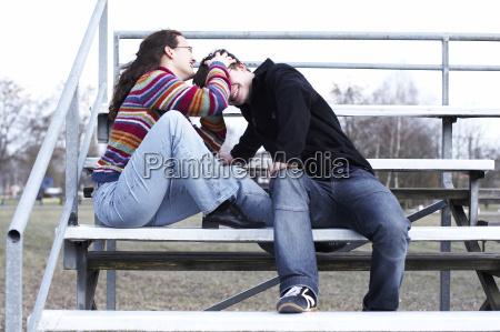 kiss on the head