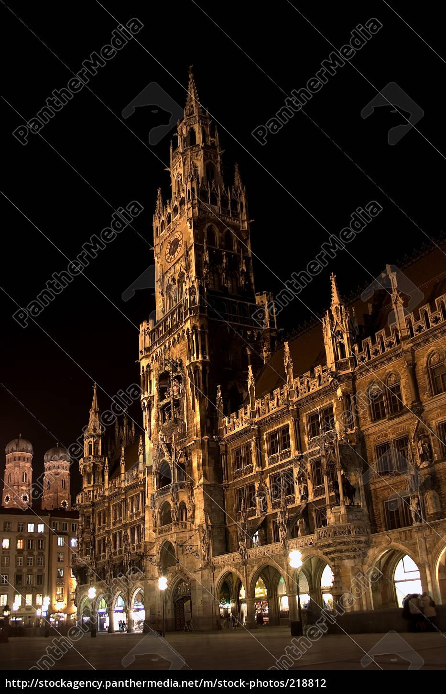marienplatz, münchen - 218812
