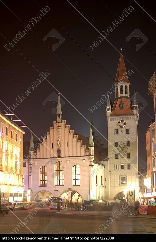 altes, rathaus, münchen - 222308