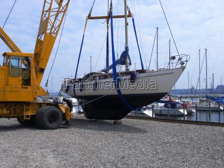 harbor gravel sailing ship sailing boat