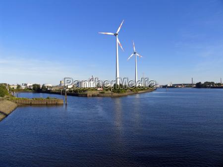 windenergie im hafen