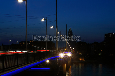 peace bridge in frankfurt horizontal