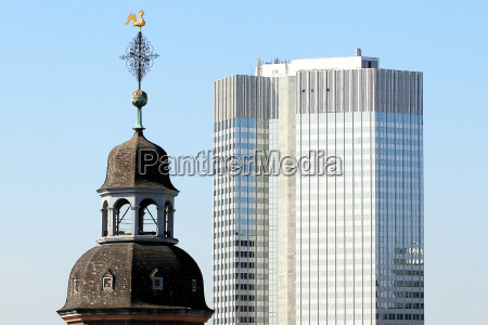 steeple and bank