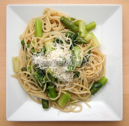 spargel-rucola-spaghetti, no., 2, cutted - 292279