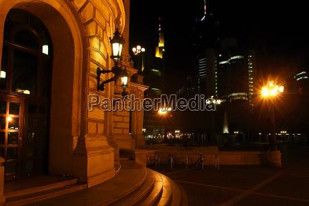 alte oper at night